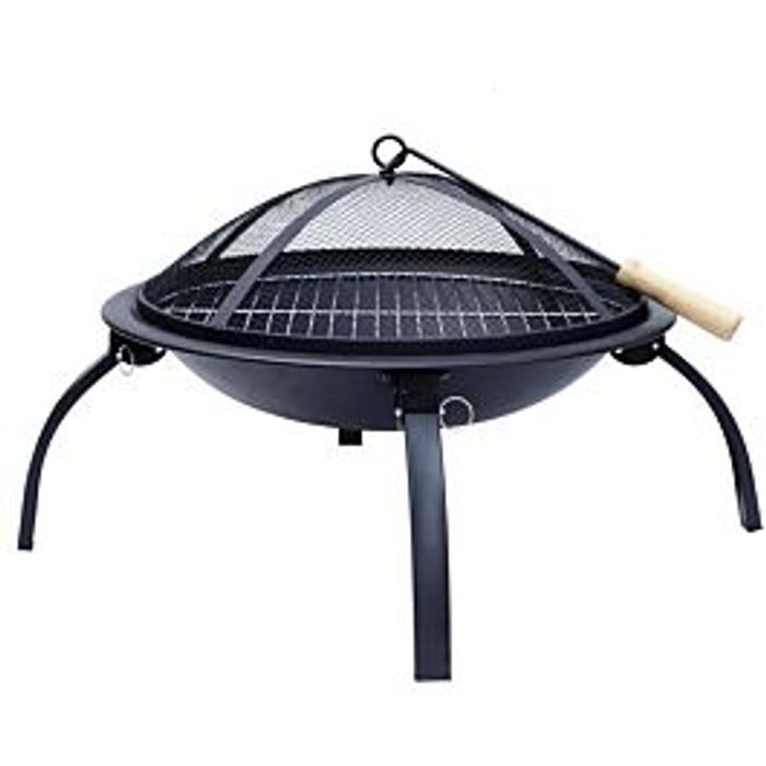 Cheap Flamemaster Fire Pit BBQ, reduced by £95.06!