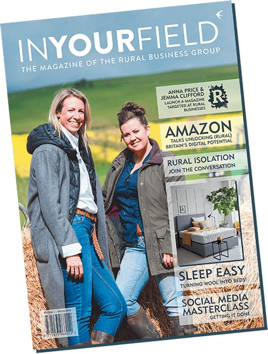 Free Copy of in Your Field Magazine.