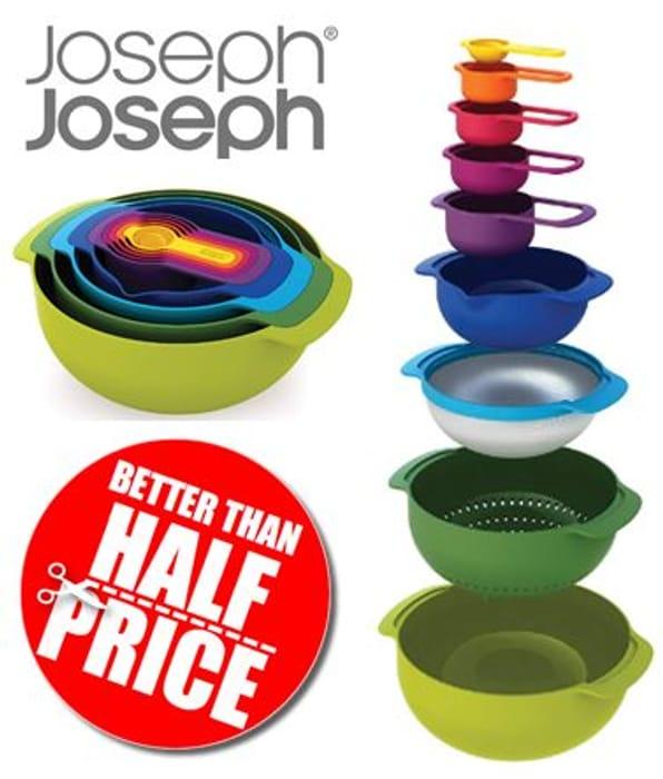 Joseph Joseph - NEST 9 PLUS - Compact Food Preparation Set