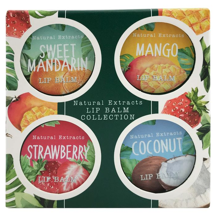 Natural Extracts Lip Balm Collection