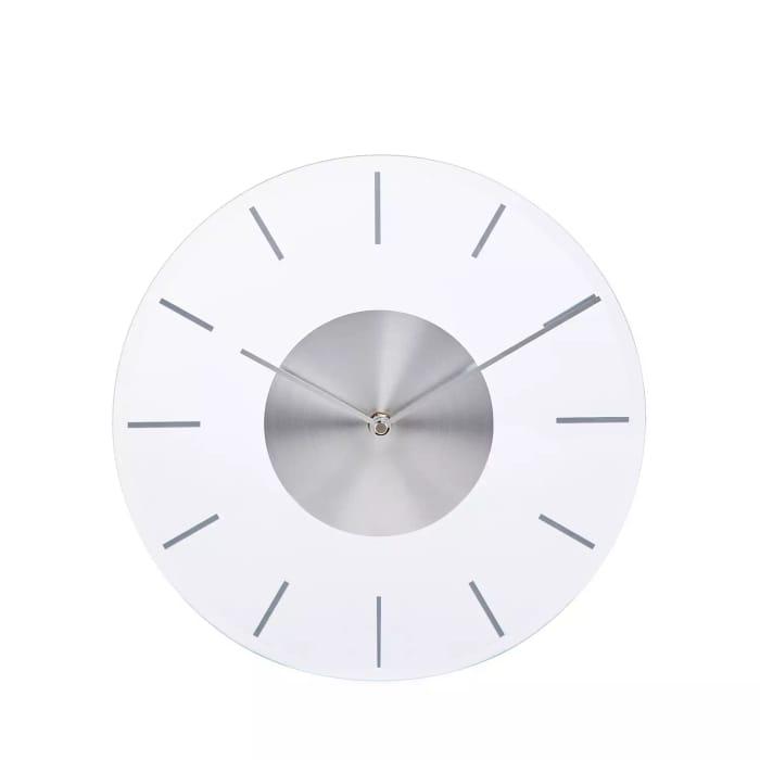 Debenhams Silver Wall Clock