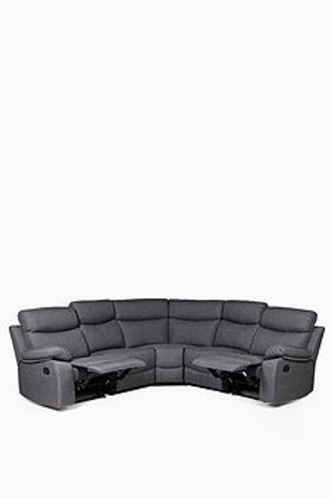 Cheap Faux Leather Recliner Corner Sofa on Sale From £1199.99 to £774.99