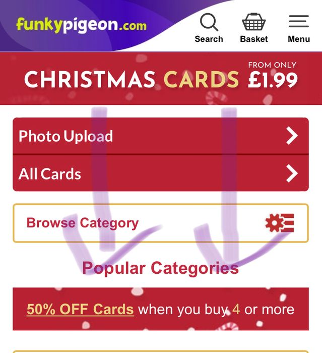 Special Offer - 50% off Xmas Cards When Buy 4+