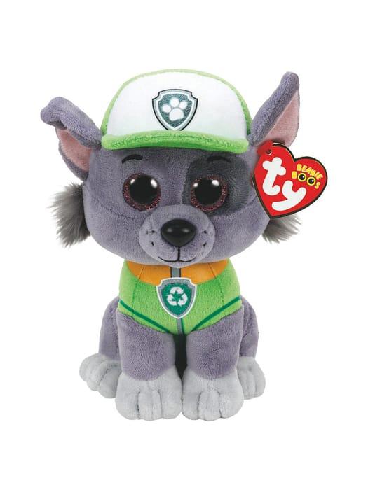 Ty Paw Patrol Rocky 15cm Beanie Soft Toy