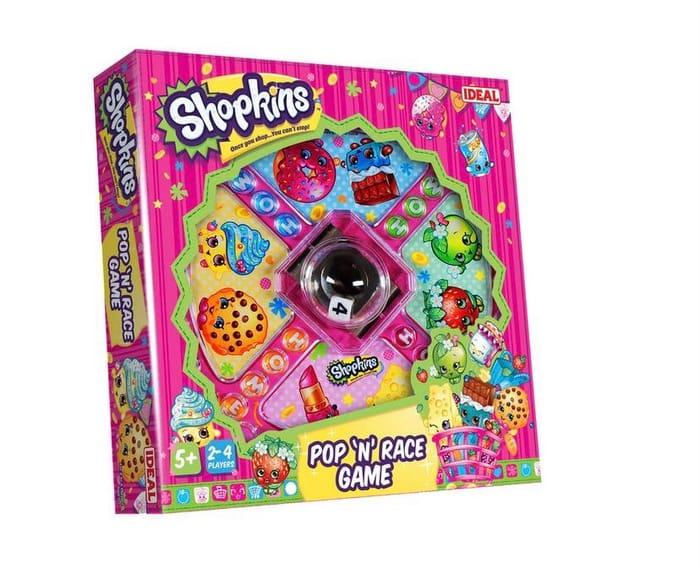 Shopkins Pop N Race Game, Half Price!