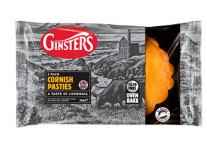 £1 Ginsters Cornish Pasty Twin Pack