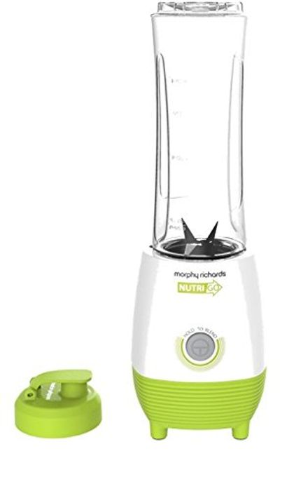 Morphy Richards Nutrigo Blender with on the Go Beaker 403054 0.6L 300 Watt Green