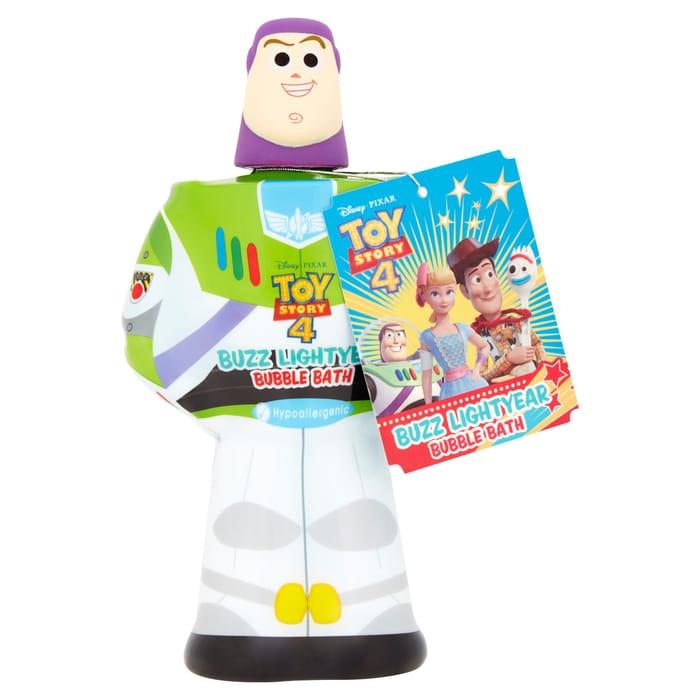 Disney Toy Story Buzz Lightyear Bubble Bath 3D 400Ml with 50% Discount!