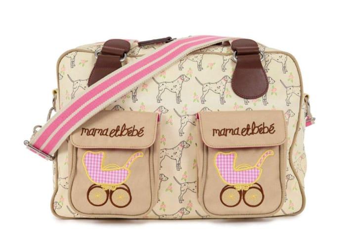 Pink Lining Mama Et Bebe Changing Bag - Sam the Dalmatia