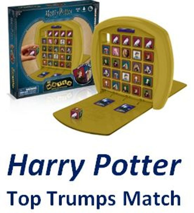 HARRY POTTER Top Trumps Match Board Game *4.8 STARS*