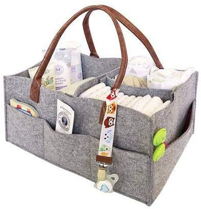 Portable Baby Nappy Caddy Organizer - Just £3.67 Delivered!