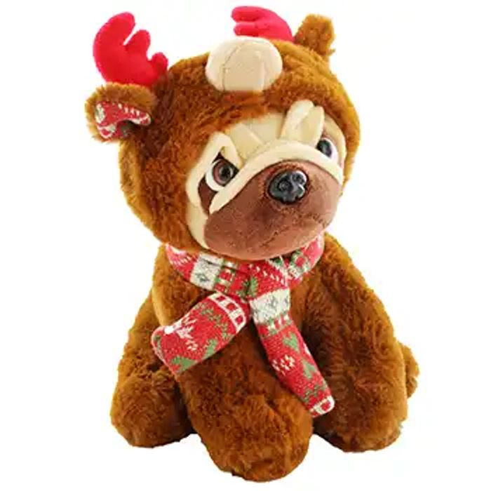 Reindeer Hooded Snuggly Pug - Only £3.75 with Code