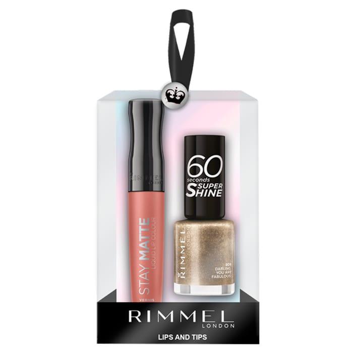 Rimmel Lips &Tips Gift Set