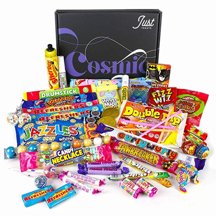 Cheap Retro Sweets Gift Box: Just Treats Cosmic Gift Box, Only £9.99!