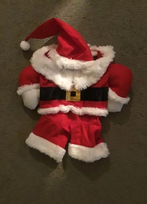 Animal Santa Outfit