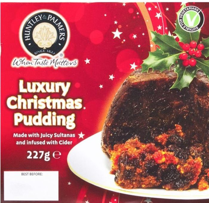 Huntley and Palmer Luxury Christmas Pudding 227g