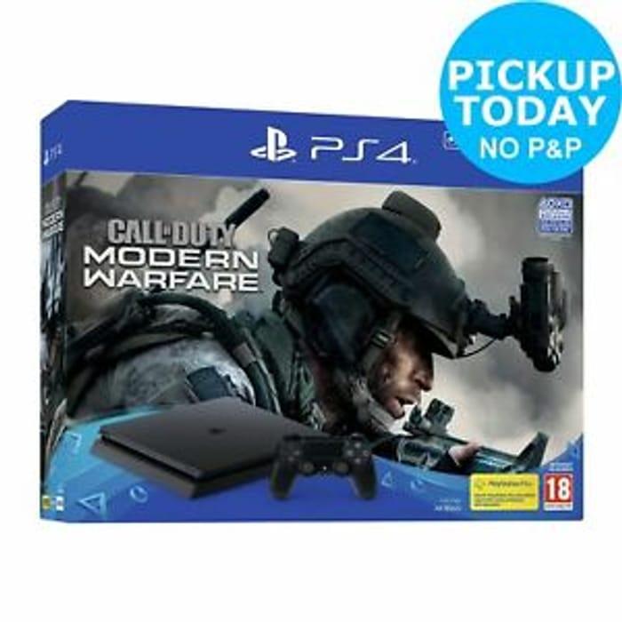 CHEAP PS4 500GB Console & Call of Duty: Modern Warfare Console Bundle £188.99