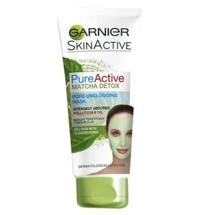 Cheap Garnier Pure Active Matcha Detox Face Mask - Save £2!