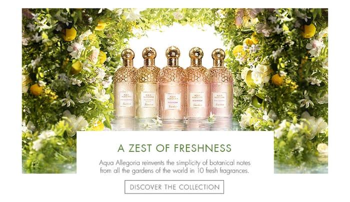 Free Sample of Guerlain Aqua Allegoria Perfume