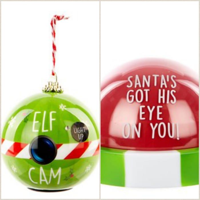 Hes Watching!! Santa or Elf Christmas Cam
