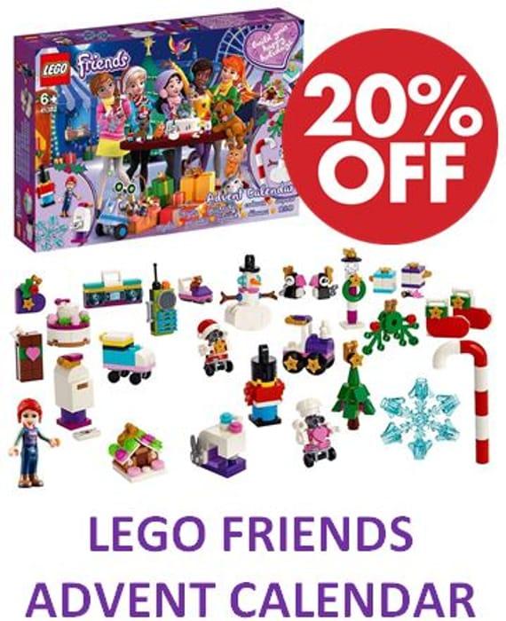 LEGO FRIENDS Advent Calendar 2019 (41382)
