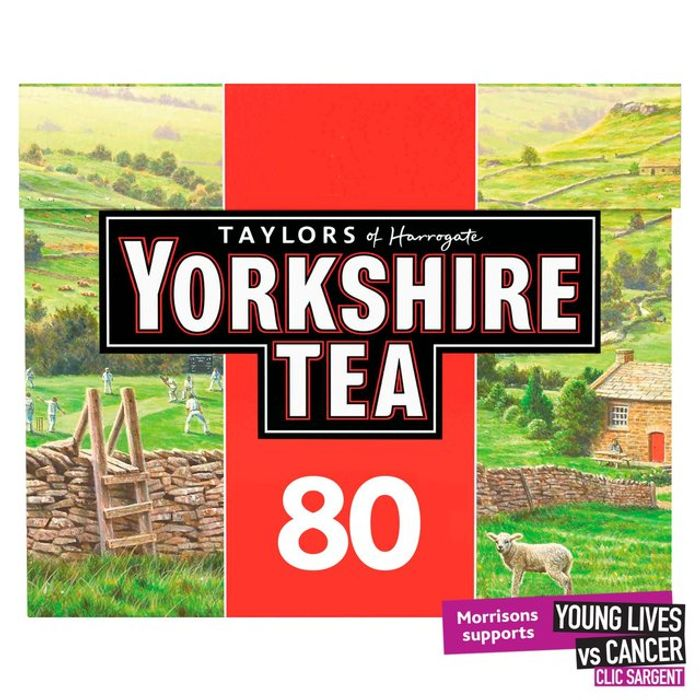 Yorkshire Tea Bags 80s 250g