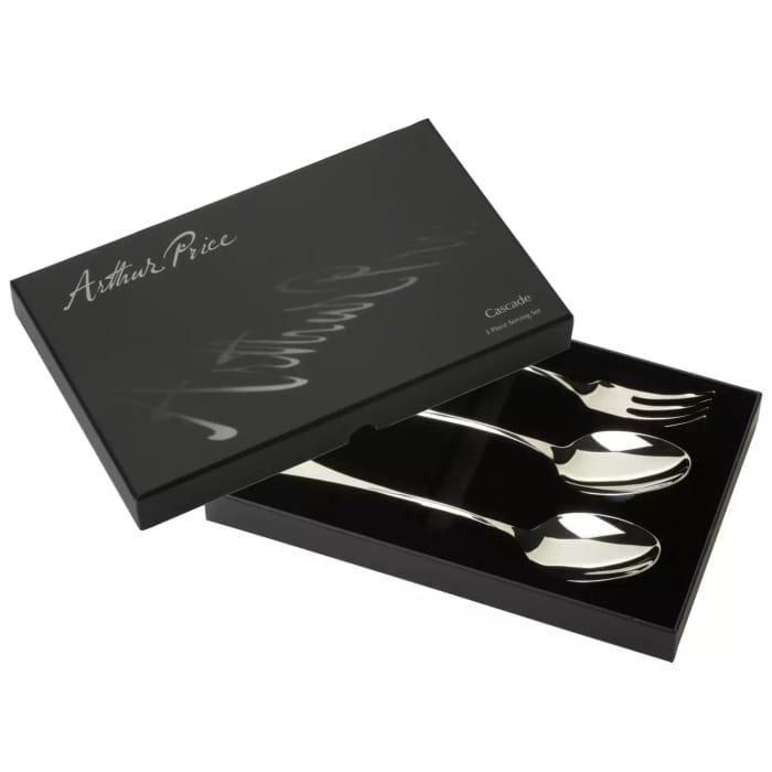 Arthur Price - Signature Stainless Steel 'Cascade' 3 Piece Cutlery Set