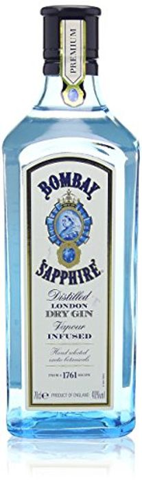 Bombay Sapphire Distilled London Dry Gin, 70cl