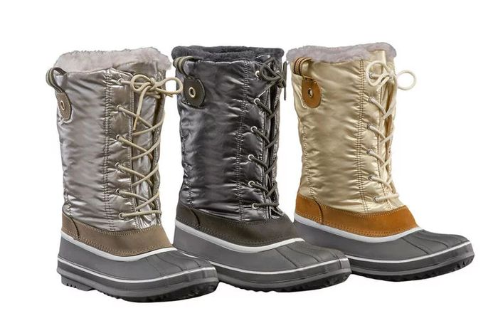 Verbier Ladies Winter Duck Snow Boots 3 Colours & UK Sizes 3 > 8