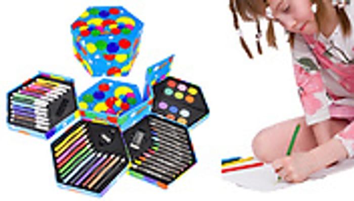 52 Piece Arts & Crafts Set