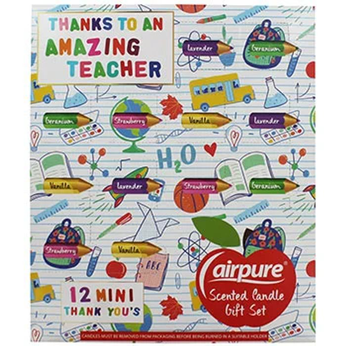 Cheap Thank You Teacher Scented Candle Gift Set - Only £2!