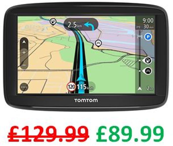 £40 off ! TomTom Car Sat Nav Start 52, 5 Inch with Lifetime EU Maps
