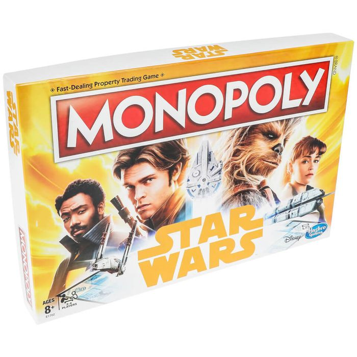 Hasbro Star Wars Han Solo Monopoly - Save £18!