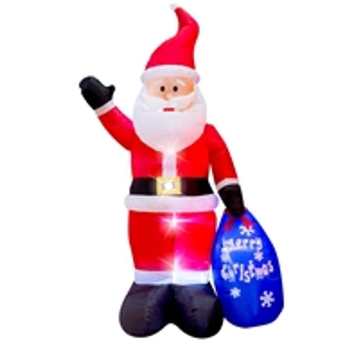 *HALF PRICE* 6ft Inflatable Santa