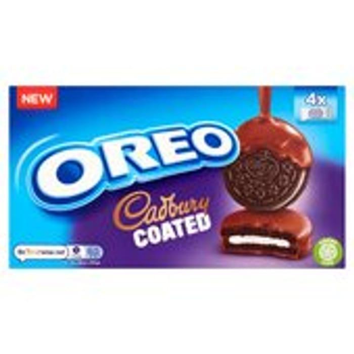 Oreo Cadbury Coated Chocolate Biscuits - Save £0.80!
