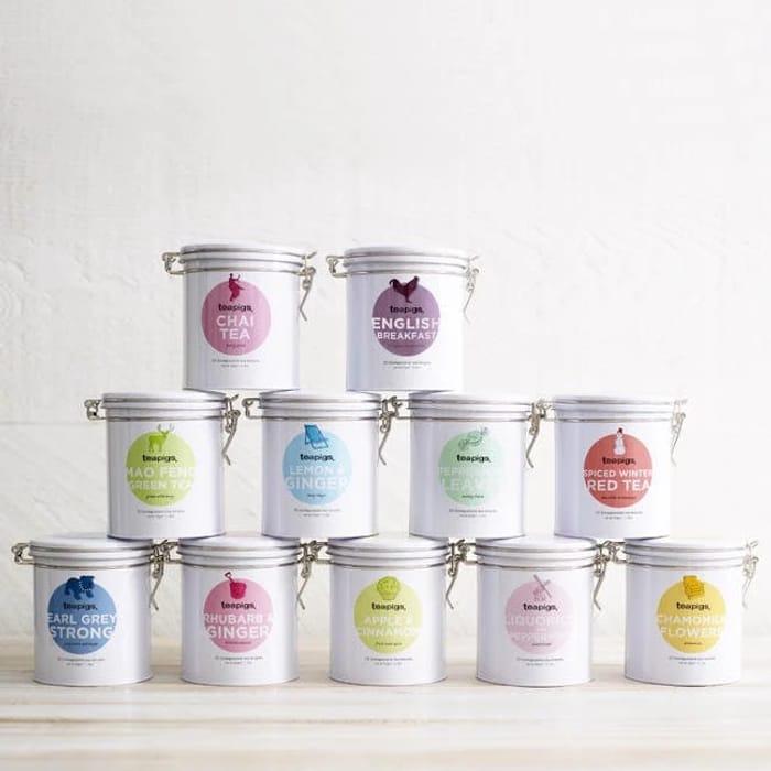 Teapigs Tins of Tea - Save £2.95!