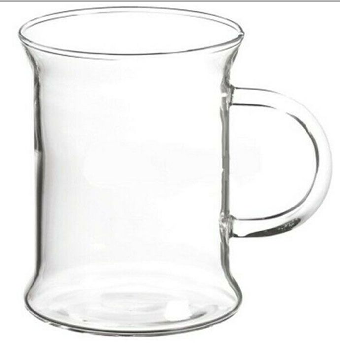 Unusual Dishwasher Safe GLASS MUGS for Hot or Cold Drinks * 4 Pack!