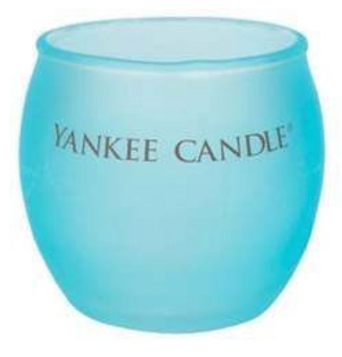 Cheap Yankee Colourful Roly Poly Votive Candle Holder - Only £1!