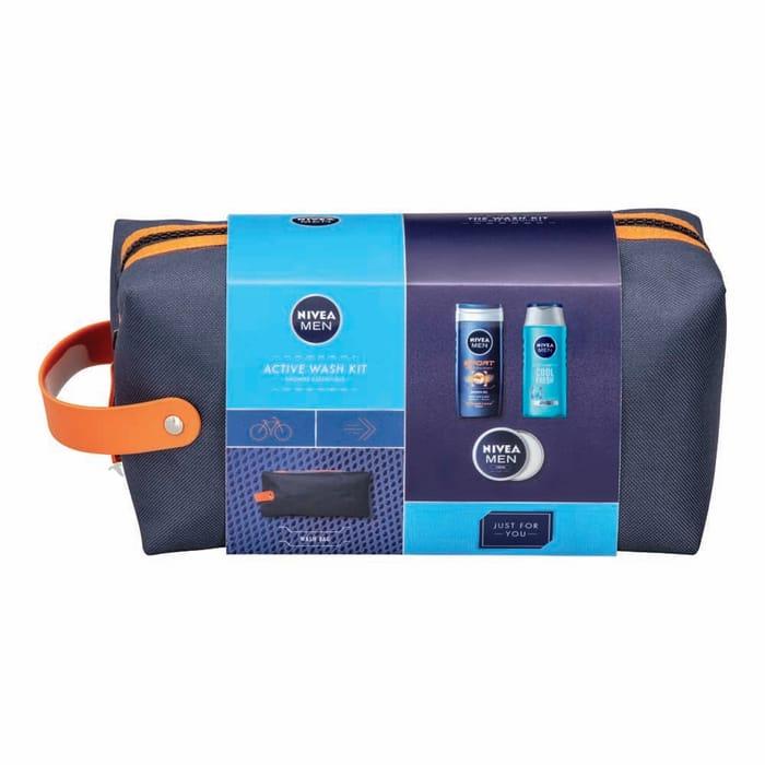 Nivea Men Active Wash Kit Gift Set - HALF PRICE!