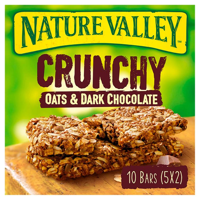 Nature Valley Crunchy Granola Oats & Chocolate Bars 5X42g - Save £1.20!