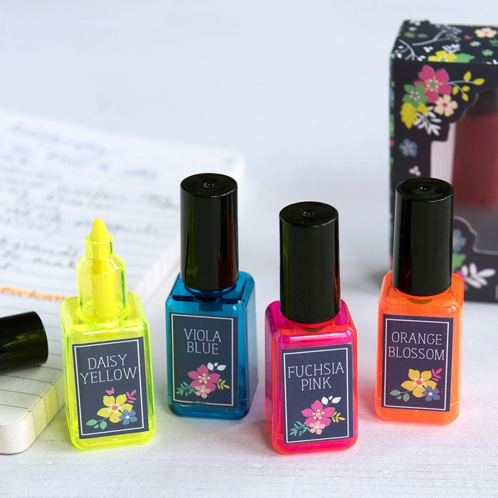 Ditsy Garden Nail Varnish Highlighters with £3 discount - Great buy!