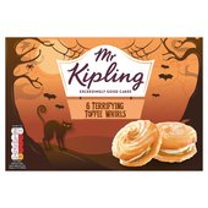 Mr Kipling Toffee Terror Whirls 6 per Pack - HALF PRICE!