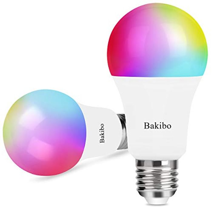 2 X Smart WiFi LED Light Bulb Dimmable 9W 1000Lm - Save £10 with Code!