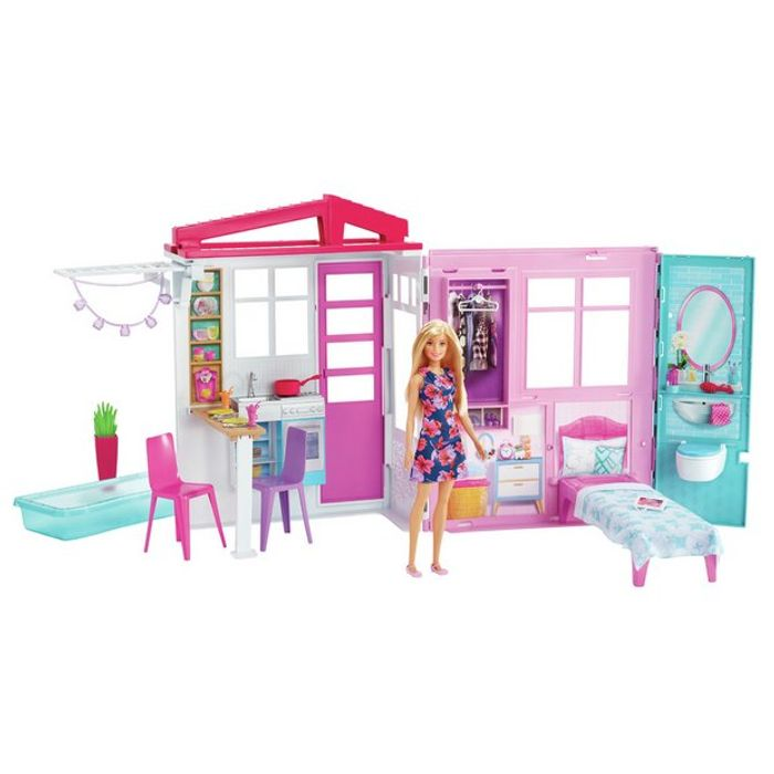 Barbie House and Doll Playset - 60% Off!