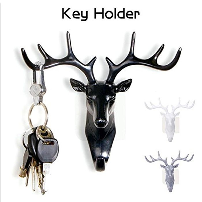 Creative Deer Stag Head Hook Only £1.40 with FREE DELIVERY