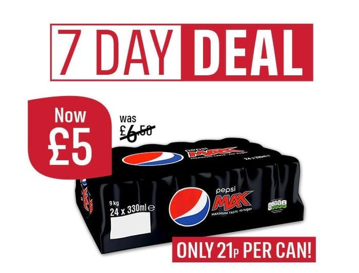 24 Can Pepsi Max