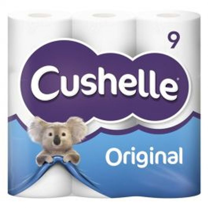 Cushelle Toilet Roll 9 Pack - Only 11p per roll!