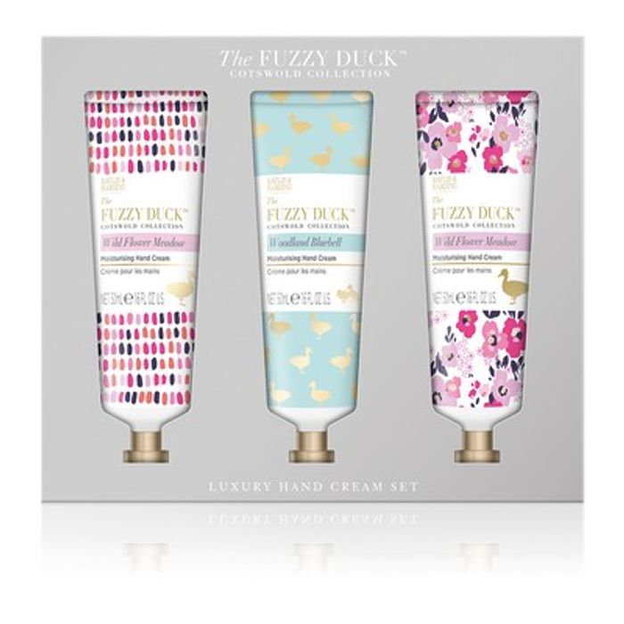 The Fuzzy Duck Cotswold Floral Hand Cream Set