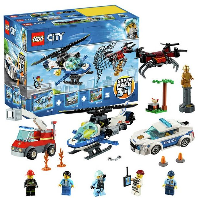 LEGO City Police 3 in 1 Super Pack
