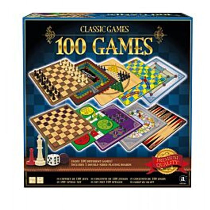 Ambassador Classic Games Collection - 100 Game Set